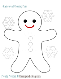 Educations Thanksgiving Gingerbread Man Coloring Pages 9 Page