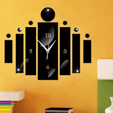 creative wall clock wall art decoration