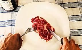 eating raw steak. Modren Raw Image With Eating Raw Steak Y