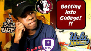 getting into college getting into college