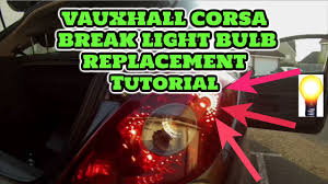 How To Replace An Opel Corsa D Bulb