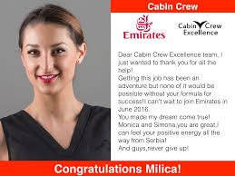 Pass First Time Student Success Stories \u2013 Cabin Crew Excellence