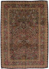 fine tree of life design unique kerman persian area rug oriental carpet 8x12