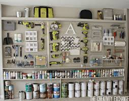 diy garage pegboard storage wall cool pegboard storage pieces the creativity exchange