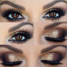 gold y eye liked on polyvore featuring beauty s makeup eye makeup eyes holiday makeup sparkle makeup e hair beauty that i love in