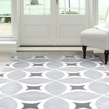 lavish home geometric area rug 8 by grey white black and rugs 4x6 op