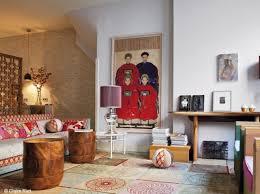 oriental style interior design in amsterdam apartment interior