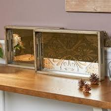 If your tray has handles, it can easily be relocated if you need more. Farmhouse Rustic Silver Decorative Trays Birch Lane