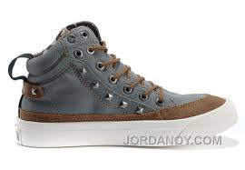 converse studded collar by john varvatos grey 1908 chuck taylor all star rivet high tops canvas
