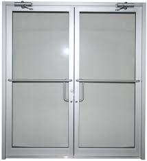 exterior double doors. Industrial Exterior Double Doors Have Increased Strength