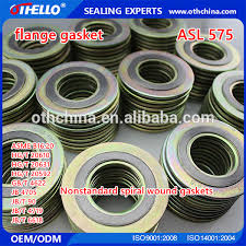metallic gasket. high quality spiral wound metallic gasket with inner and outer ring - buy spring metal gasket,ind gasket,inner