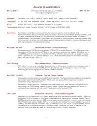 Embedded Programmer Resume Resume For Study