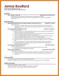 College Resume Template Word Free Download Fresh Example College