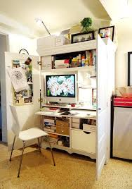 hidden office desk. Hidden Office Desk Cool In Eclectic With Next To Alongside And Compartment U