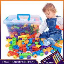 Bộ đồ chơi xếp hình LEGO 100 chi tiết, 286 chi tiết , 520 chi tiết cho bé  lắp ráp, sáng tạo phát triển trí tuệ của trẻ tại Nam Định