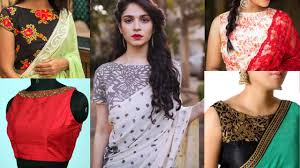 Boat Neck Blouse Designs For Saree Latest Boat Neck Saree Blouse Designs Beautiful Boat Neck Blouse Designs Top Blouse Designs For Sari