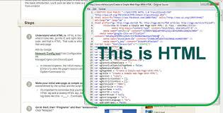Step By Step Html Website Design How To Create A Simple Web Page