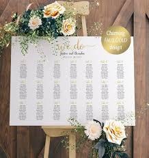 Editable Seating Chart Wedding Wedding Seating Chart Template Alphabetical Seating Chart