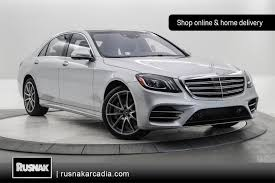 Glass's information services (gis) and carsguide autotrader media solutions pty ltd. New 2020 Mercedes Benz S Class S 560 Sedan In Arcadia 35200630 Mercedes Benz Of Arcadia