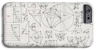 Graph Paper Iphone 6 Cases Fine Art America