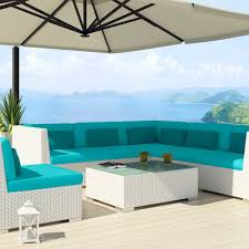 real white patio umbrella design ideas combine with ohana outdoor furniture plus turquoise cushion seat