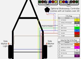 7 pin trailer plug wiring diagram seven pole on