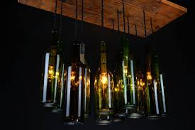 best bottle chandelier