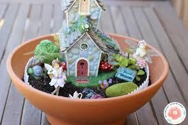 a fairy garden for indoor or outdoor