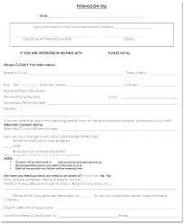 Sample Field Trip Permission Slips Church Field Trip Permission Slip Template Co Free Doc