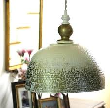 hammered copper lamp shade metal ceiling antique pendant lights white gold dining bedroom kitchen and full
