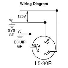 2613 leviton 30 amp, 125 volt, nema 30 Amp Contact Wiring Diagram 20 Amp Plug Wiring Diagram