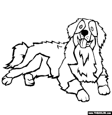 Small Picture Enjoyable Inspiration Coloring Pages Dogs Dogs Online Coloring