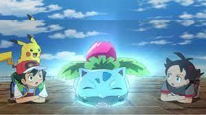 Pokémon Journeys: English Episode 3 Review! Ivysaur's Mysterious Tower -  YouTube