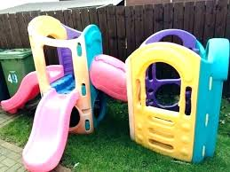 D Outdoor Playsets For Toddlers Best Image Of Slides Plastic
