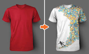 Tee Shirts Templates Mens Ghosted Crew Neck T Shirt Templates Pack
