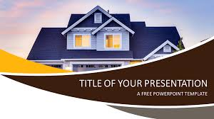 Powerpoint Real Estate Templates Real Estate Powerpoint Template Presentationgo Com