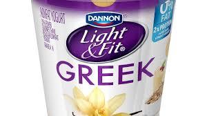 Does Dannon Light And Fit Greek Yogurt Have Probiotics Fit