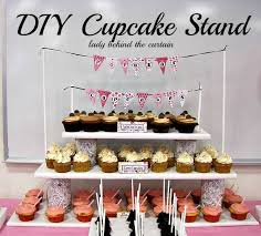 How To Make A Cupcake Display Stand