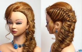 Hair Style For Medium Hair hairstyle for party medium long hair tutorial youtube 4407 by wearticles.com