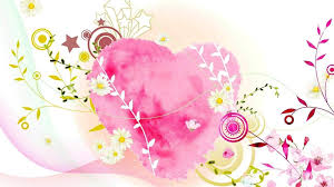 Pictures Of Hearts And Flowers Hearts And Flowers Flower And Heart Background Hd Free