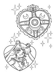 Small Picture Sailor Moon Make Up Coloring Page Color Luna