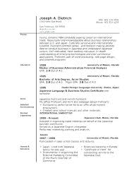 Mac Resume Templates – Resume Sample