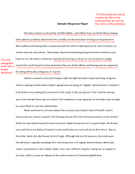 Example Of Response Essays Write An Effective Response Paper With These Tips
