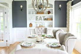 wing chair dining room summer tour dining room reveal navy walls curtains chairs wingback chair dining