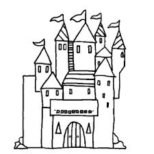 Middeleeuwen Kastelen Ridders Kleurplaten Leuk Voor Kids