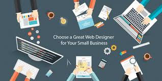 web designer for small business
