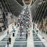 Worlds longest sea bridge finally opens