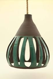 heather levine s ceramic hanging pendant lights