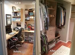 office in a closet design. Awesome Picture Of Convertingsmall Room Intowalk In Closet Net And Office A Design