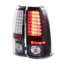 03-06 Chevy Silverado LED Euro Altezza Tail Lights - Black 111 ...
